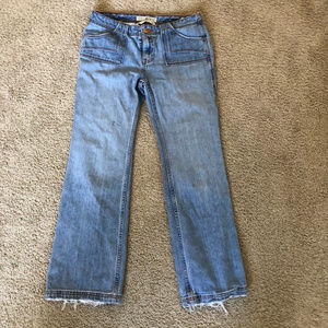 Tommy Hilfiger Lady's Boot Cut Blue Jeans